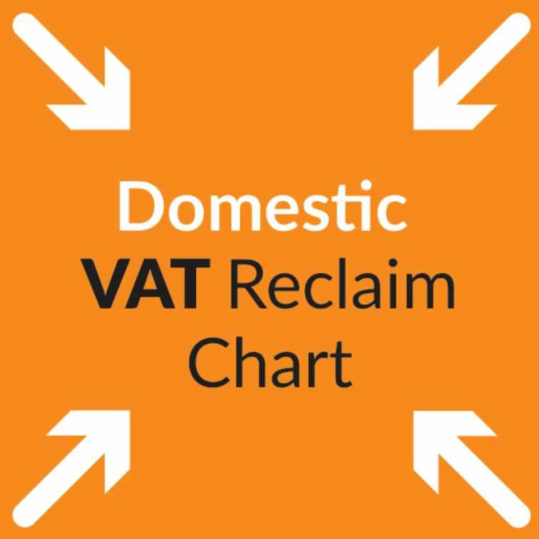 Domestic VAT Reclaim Chart